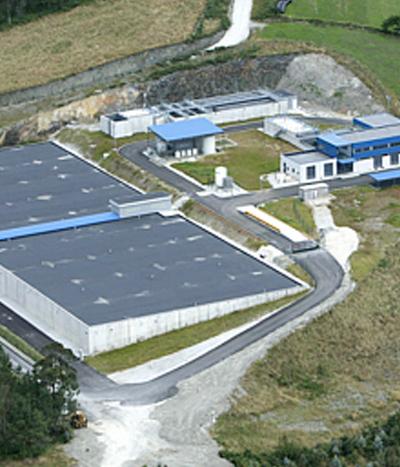 Estación de Tratamiento de Agua Potable Arbón