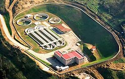 Estación depuradora de aguas residuales de Cangas Narcea