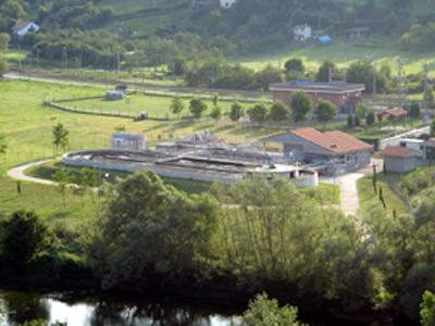 Estación depuradora de aguas residuales de Trubia