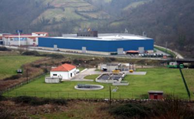 Estación depuradora de aguas residuales de Olloniego