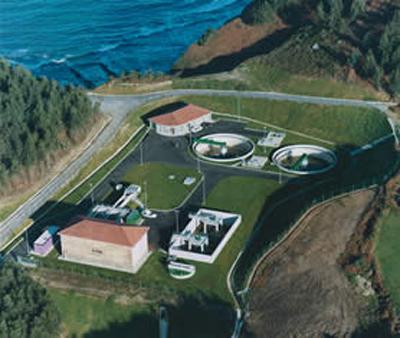 Estación depuradora de aguas residuales de Villaviciosa