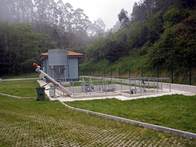 Estación depuradora de aguas residuales de Novellana