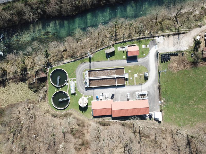 Estación depuradora de aguas residuales de Cabrales
