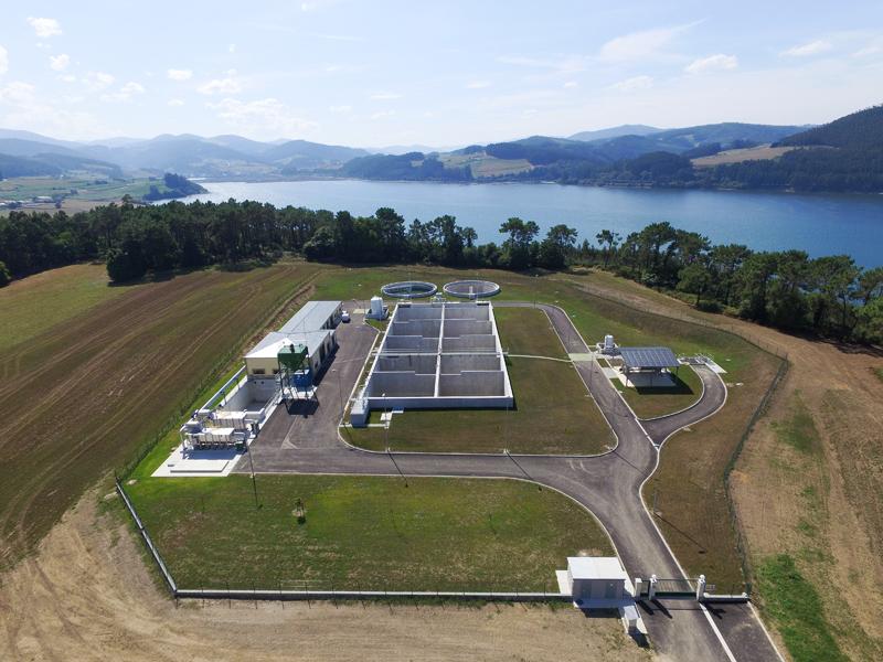Estación depuradora de aguas residuales de la Ría del Eo