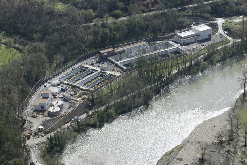 Estación depuradora de aguas residuales de Las Caldas