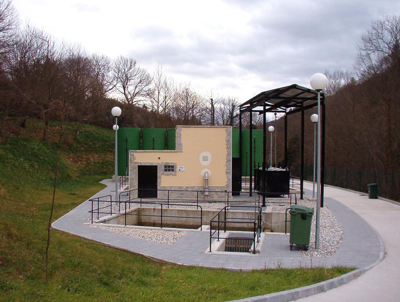 Estación depuradora de aguas residuales de la Pola de Allande
