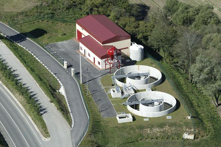 Estación depuradora de aguas residuales de Panes