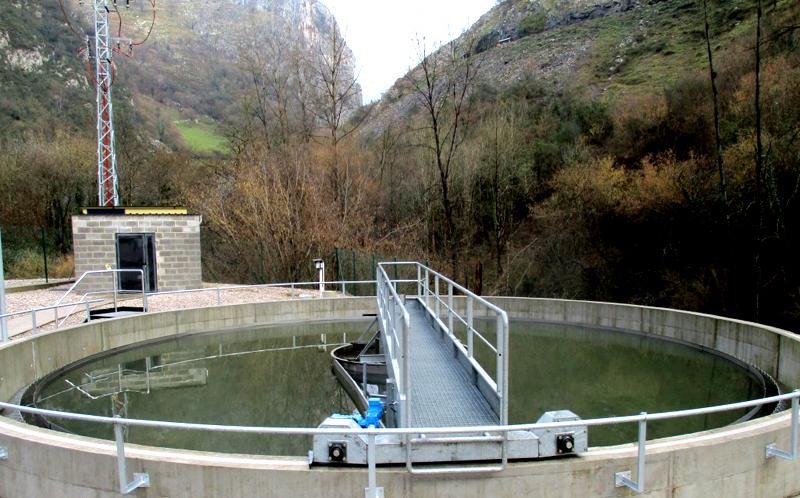 Estación depuradora de aguas residuales de Riosa