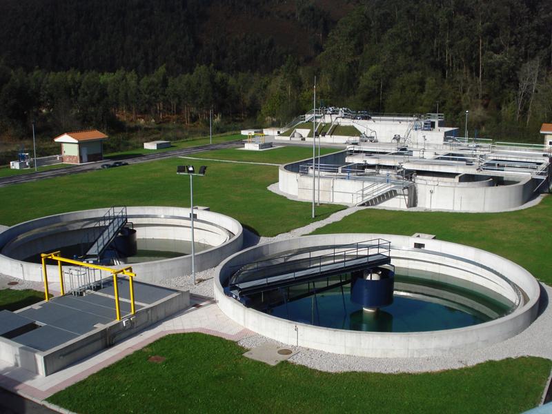 Estación depuradora de aguas residuales de San Jorge