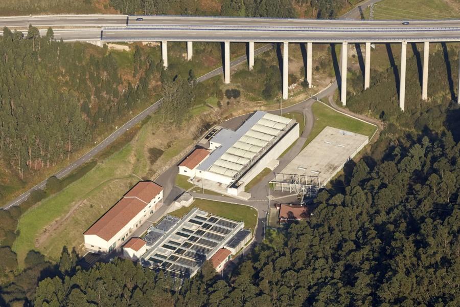 Estación de Tratamiento de Agua Potable (ETAP) de Ablaneda