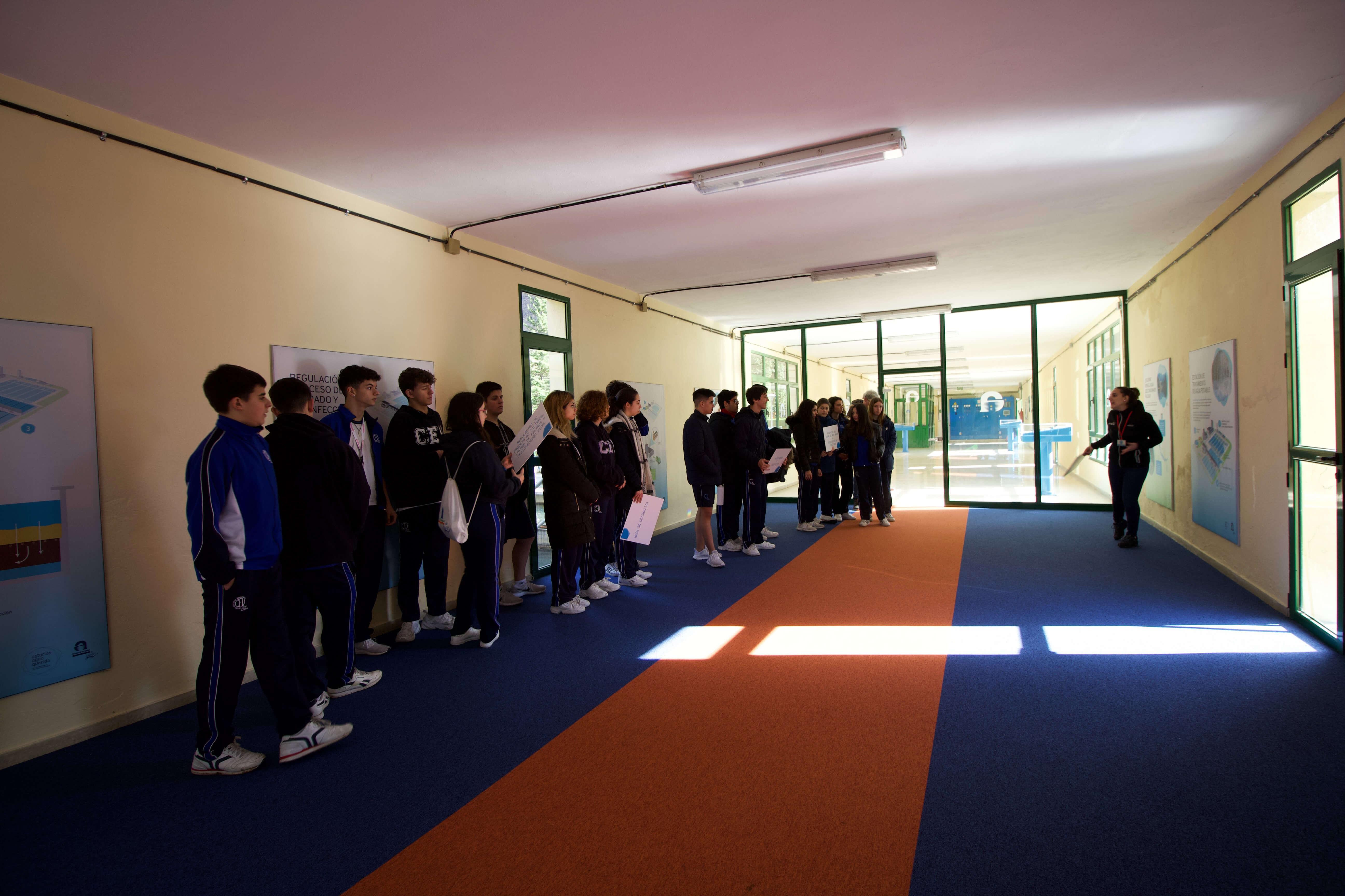 Visita Escolar Instalaciones Rioseco Y Baiña 03032020 51