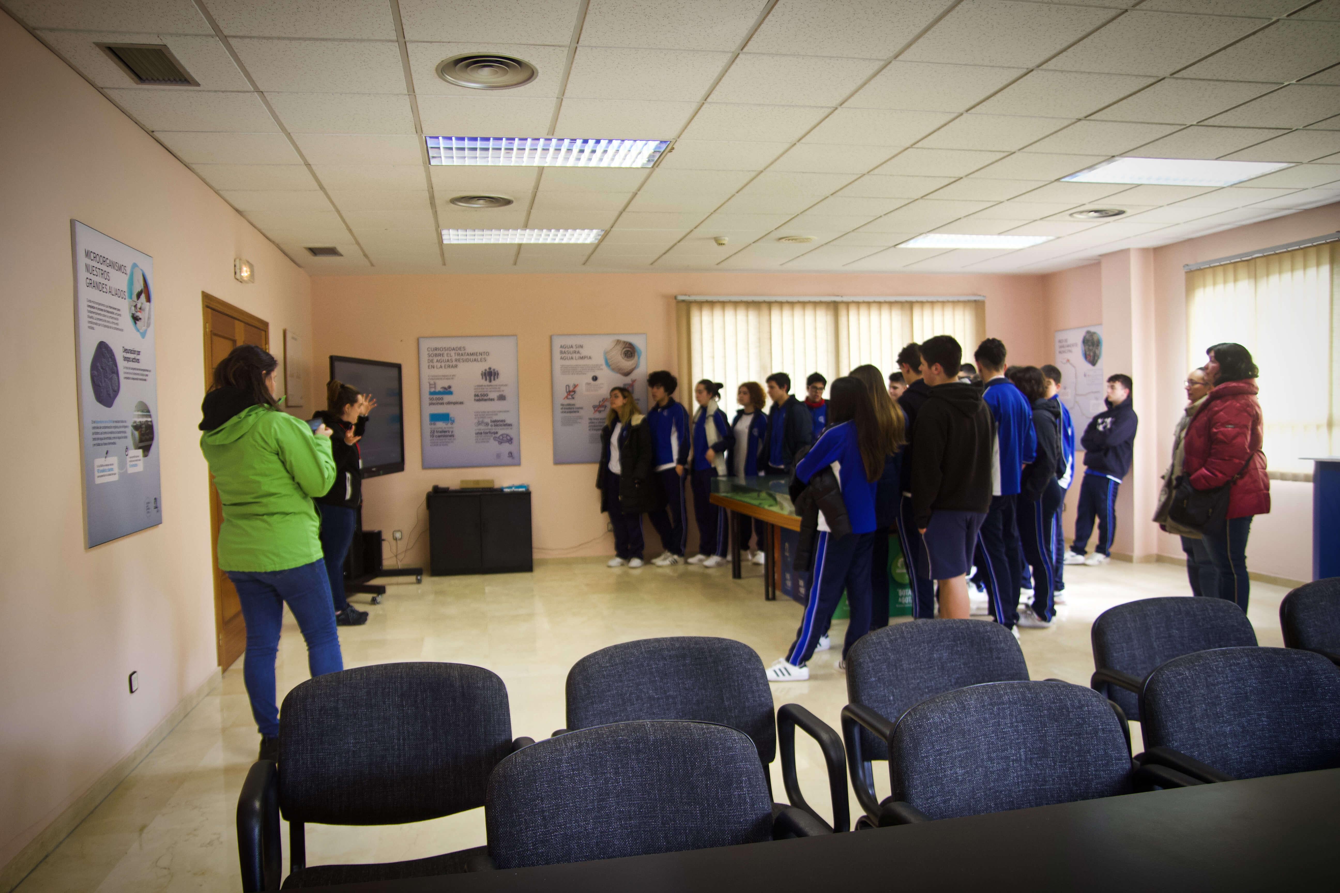 Visita Escolar Instalaciones Rioseco Y Baiña 03032020 55