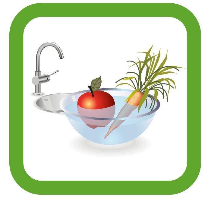 Aquatrucos Lavado Frutas Cuenco